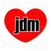 I Love JDM Corazón
