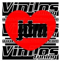 I Love JDM Heart