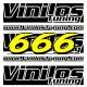 666 Bicolore