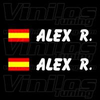 Nombres y Banderas España