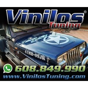 Kit Jeep Wrangler Militar